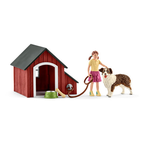 Schleich Farm World: Hundehütte