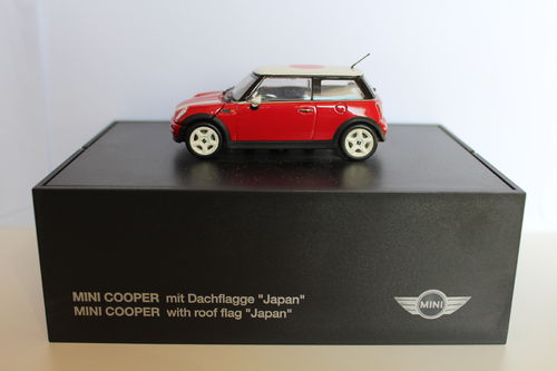Mini Cooper Sammlermodell rot Japan BMW / 1:43